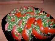 Узбекский помидорный салат Аччик-Чучук (Шакароб)